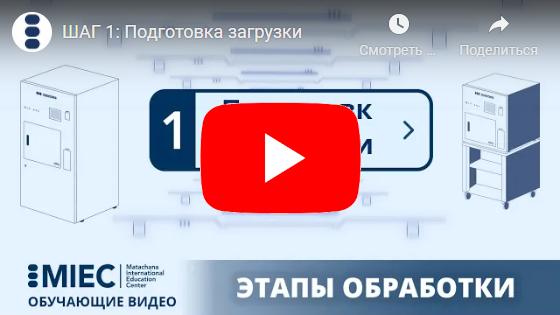 Видеоинструкция по использованию стерилизаторов Matachana серии HPO